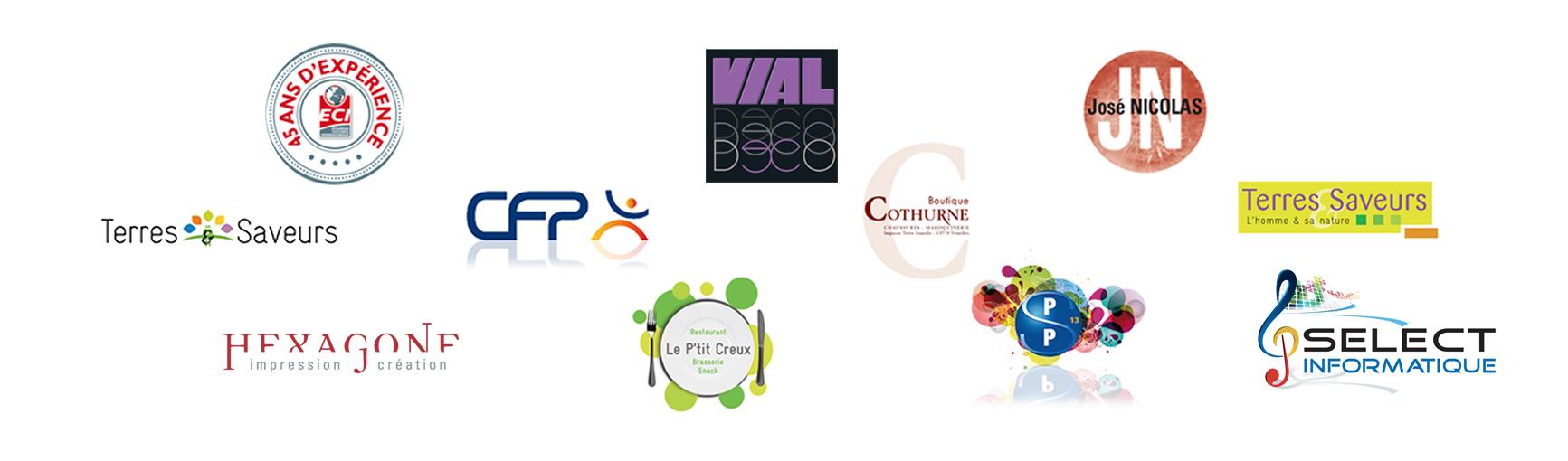 creation de logos et charte graphique sur Aix en Provence et alentours