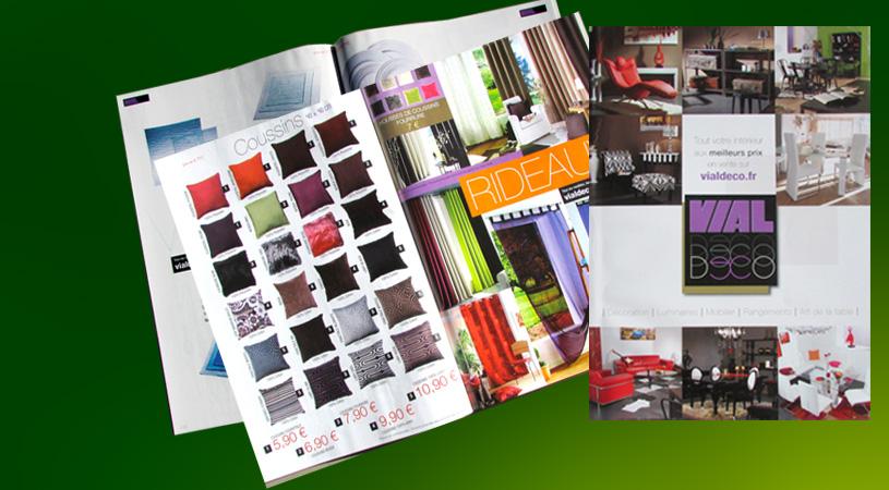 Catalogues Vial Decoration - Conception et réalisation Hexa-Aix