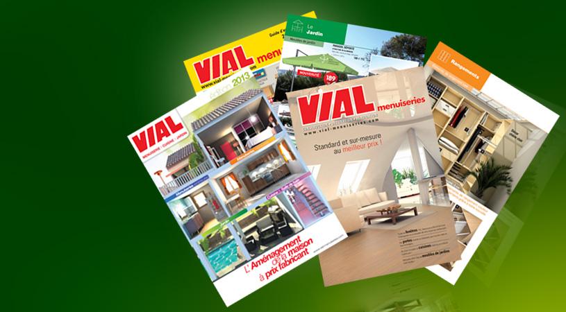 edition du catalogue g n ral vial menuiserie. Black Bedroom Furniture Sets. Home Design Ideas
