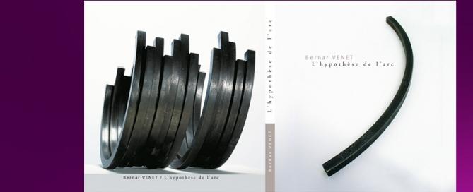 Livre Bernar Venet - Conception et réalisation Hexa-Aix