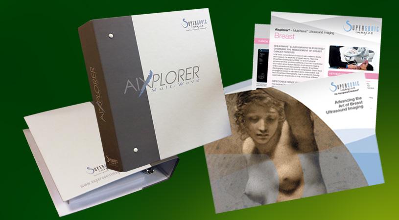 supersonic brochures classeurs fiches impression et conseil par HEXA AIX
