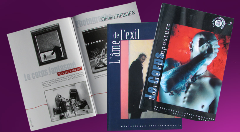 Mediathèque Intercommunale conception et impression Hexa-Aix à Aix-en-Provence